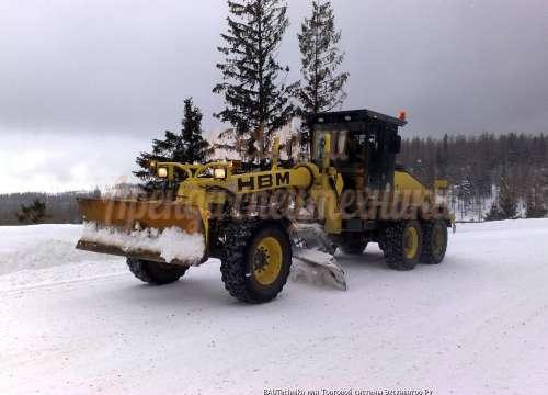 Автогрейдер HBM BG190TA-4