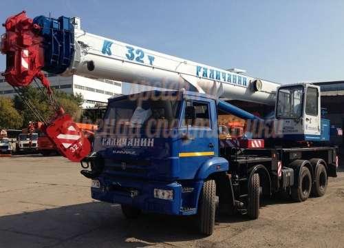 Автокран КАМАЗ КС-55729-1В Галичанин